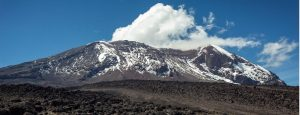 Mountain Kilimanjaro in Tanzania